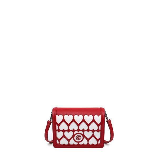 Flap Bag Small Red