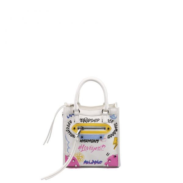 Vertical Bag Small White