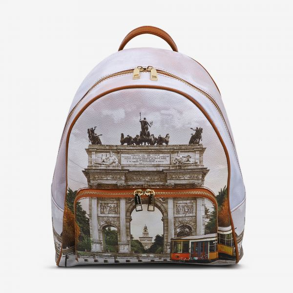 Backpack With Front Pocket Autumn Milano