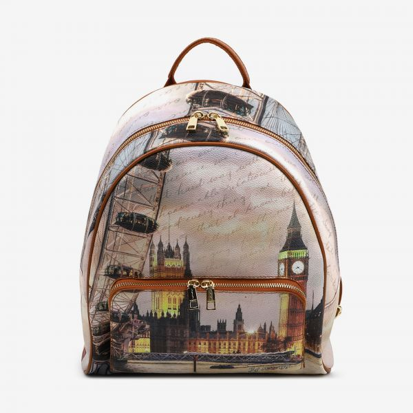 Backpack With Front Pocket London Eye