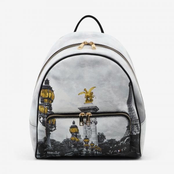 Backpack With Front Pocket Paris Sant'alessandro