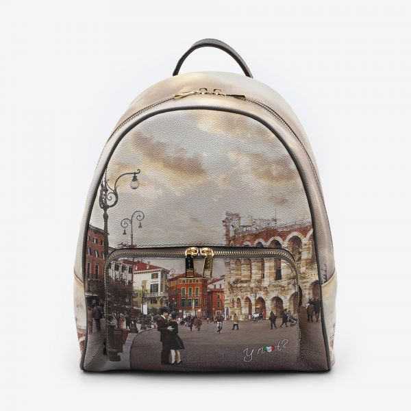 Backpack With Front Pocket Verona  Arena