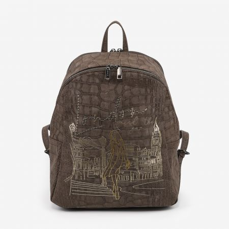 Backpack Large London Taupe