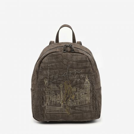 Backpack Small London Taupe
