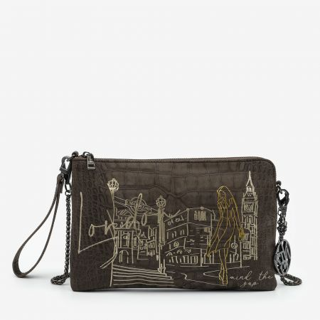 Clutch London Taupe